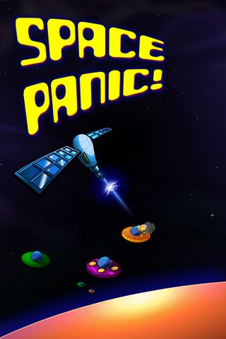 Space Panic Iphone Wallpaper