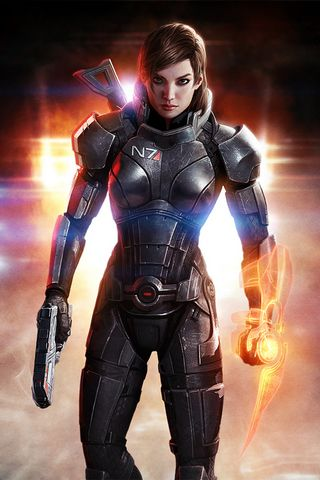 Mass Effect 3 ผู้หญิง