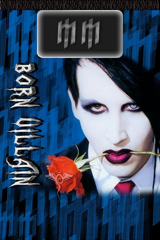 Lockscreen Marilyn Manson
