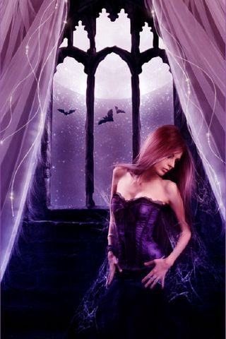 Romantic Gothic Woman
