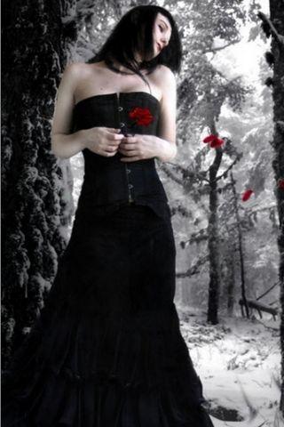 Romantica donna gotica