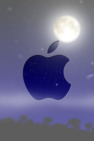 Apple-Blur-Moon