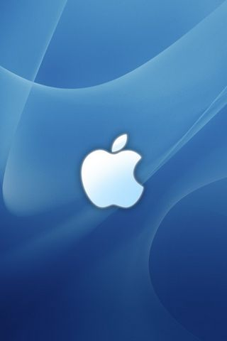 Logo Apple Blue