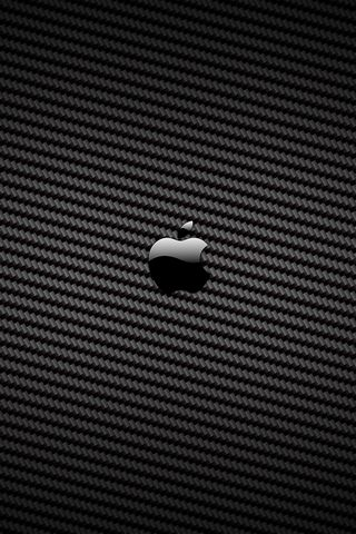 APPLE LOGO BLACK