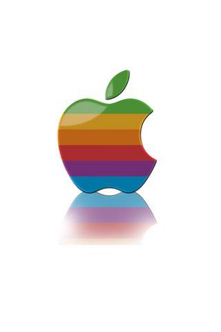 Apple Logo Rainbow