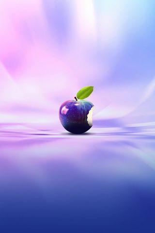 紫アップル