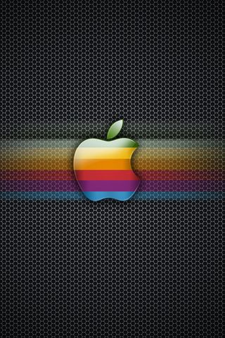 APPLE LOGO CARBON