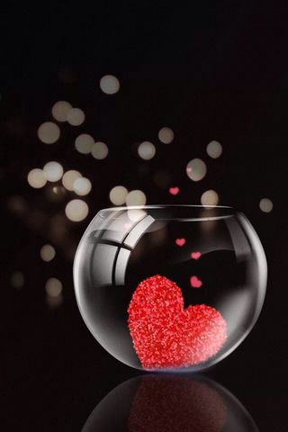 Glass Of Jar Hearts