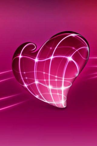 3D Pink Heart