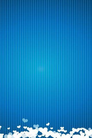 Walentynki niebieski