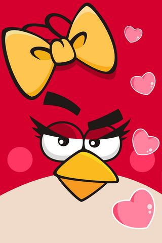 Angry Bird Loves