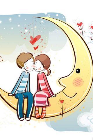 달에 커플