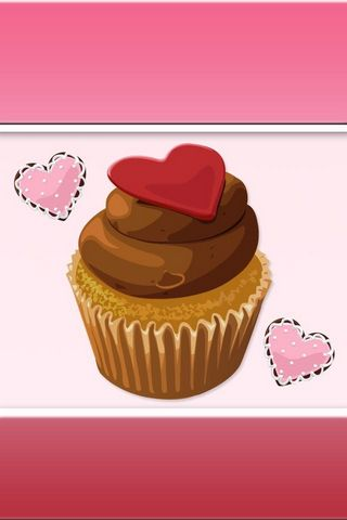 Cupcake Love - Lock Screen - IP4