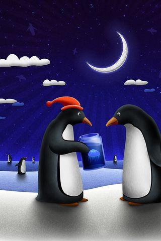 Penguin Present
