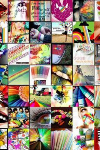 Collage Rainbow