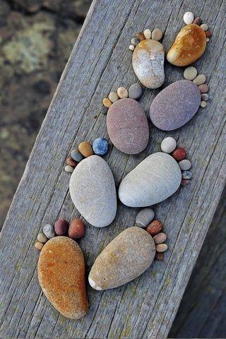 Pieds de pierre