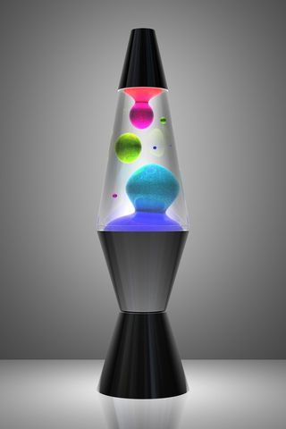 Lava Lamp Color Bubbles