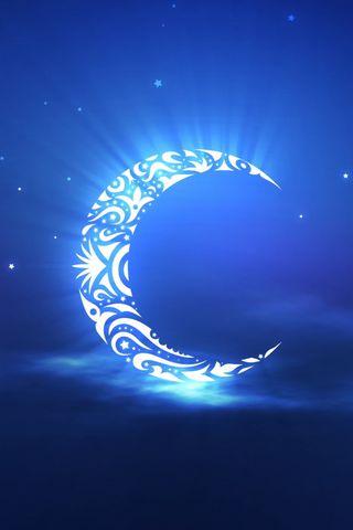 Crescent Moon Art