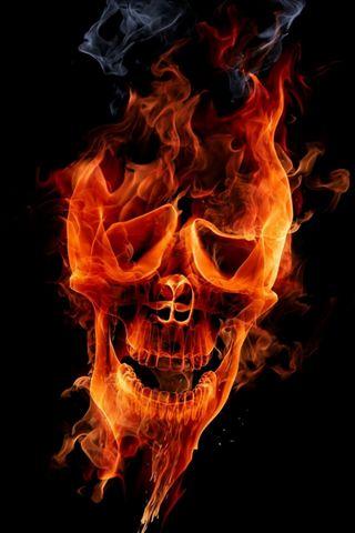 جمجمة النار