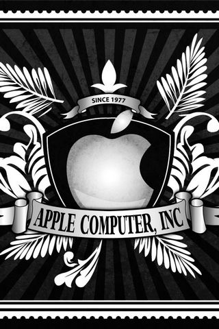 Retro logo Apple