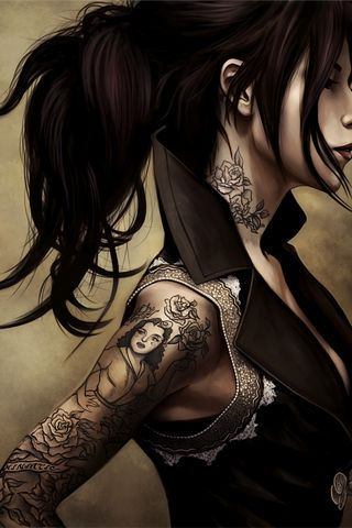 Tatto Girl