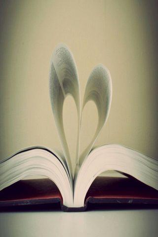 Coeur de livre