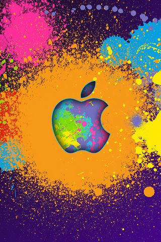 Colourfull Apple