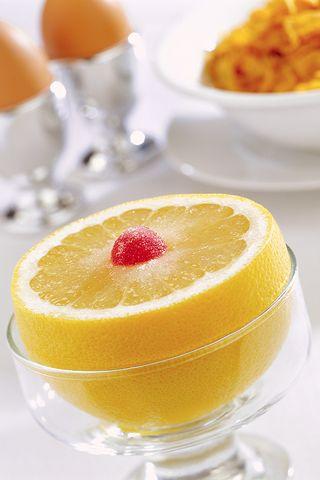 Morning-grapefruit
