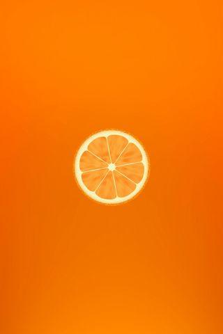 Orange Minimalistic