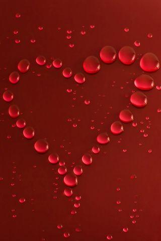 Droplets-heart