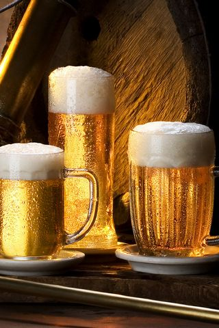 Beer-glasses