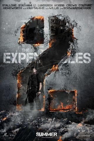 The Expendables 2 Teaser Poster