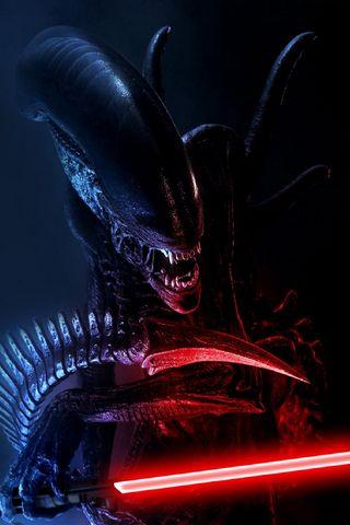 Alien Laser Sword