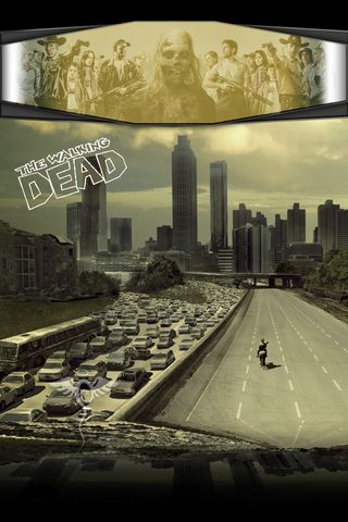Lockscreen Walking Dead