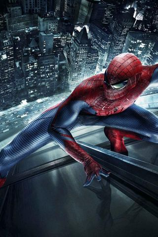 Superheld Amazing Spider Man