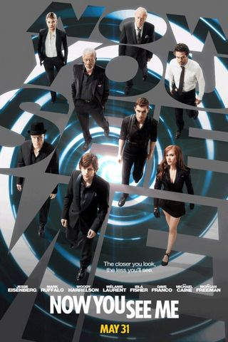 Now You See Me 2013 Movie Poster