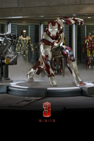 Iron Man 3 Official Background 2