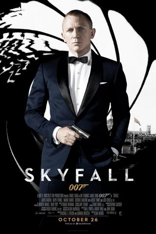 Skyfall Official Poster