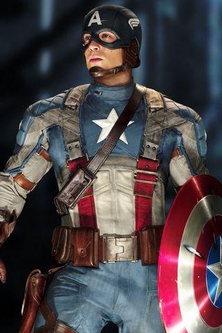 Kapitän Amerikanisch