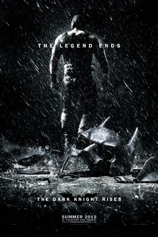 The Dark Knight Rises Official Poster