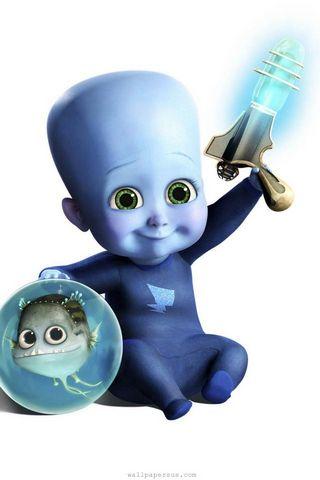 Baby Megamind N Minion