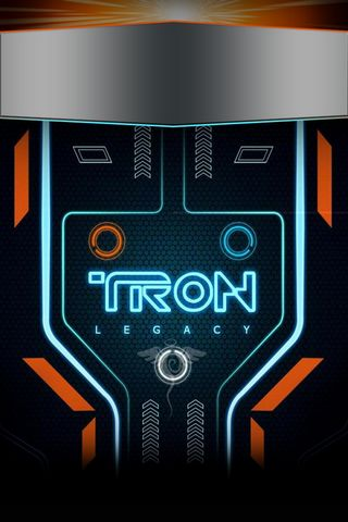 Lockscreen Tron