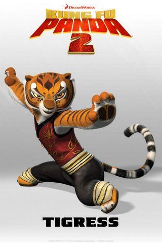 Tigress Kung Fu Panda 2