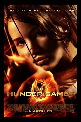 Poster game Hunger Games