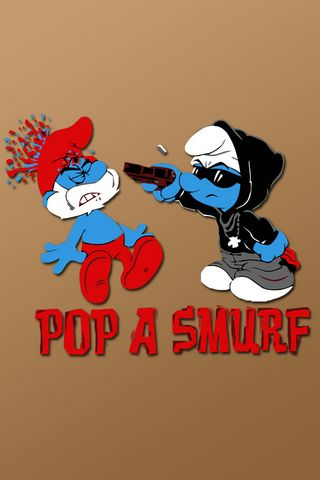 Pop A Smurf