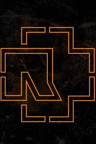 Rammstein Logo Hintergrund Lade Auf Dein Handy Von Phoneky Herunter