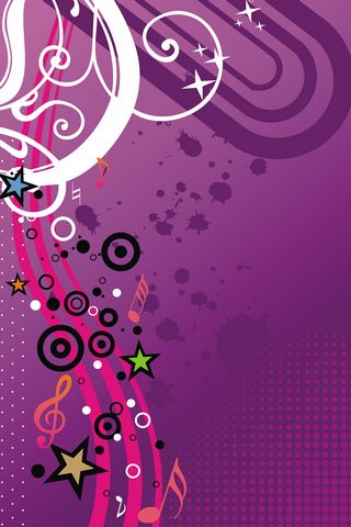 Music Girly Vector