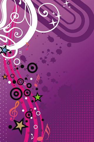 Music Girly Vector