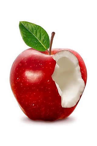 Elma kırmızı