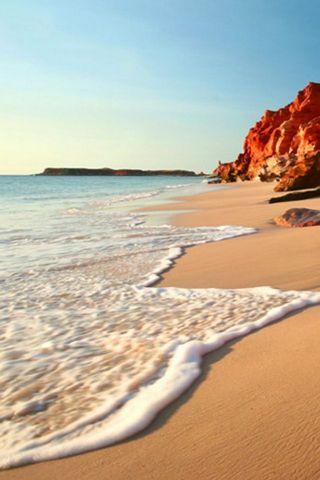 Beach-Shore-iPhone